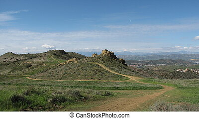 Lang Ranch Geology - Lang Ranch Open Space, Thousand Oaks,...