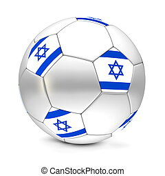 Soccer Ball/Football Israel - shiny football/soccer ball...