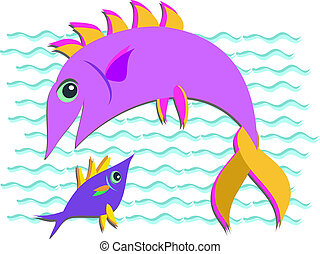Two Fish in the Sea
