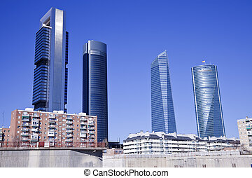 Cuatro Torres in Madrid - Cuatro Torres Bussiness Area in...