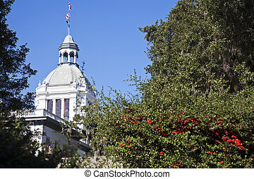 Tallahasee - State Capitol Complex - Tallahasee, Florida -...