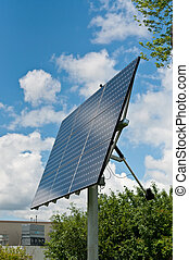 Renewable Energy - Photovoltaic Solar Panel Array - A...