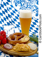 Cheese spread with wheat beer