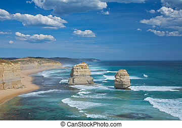 Twelve Apostles Scenic View - Great Ocean Road Drive