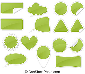 Sticker Badge - Sticker Badges in different forms and shapes...