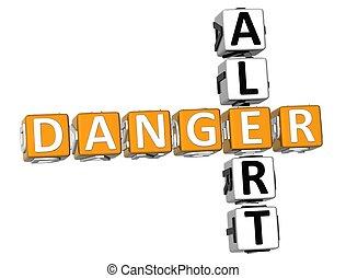 Danger Alert Crossword