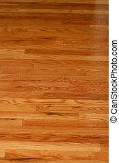 Polished Hardwood Flooring - A highly polished hardwood...