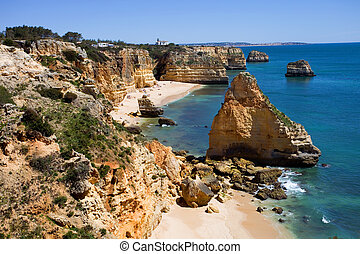 algarve - Portuguese Algarve beach, the south of the country