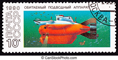 Russian built Tinro-2 submarine. Could dive to 400 meters....