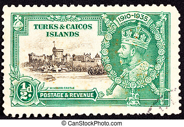 Turks and Caicos Islands in the Caribbean, an English...