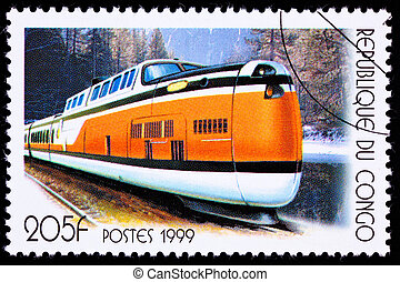 TurboTrain for the Quebec City Windsor Corridor in the...