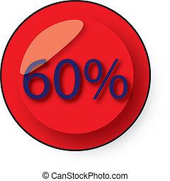 discount button - 60 discount button