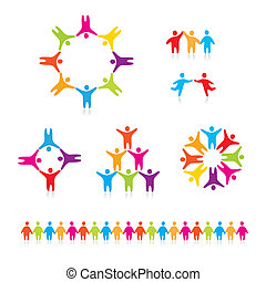 people-connected-symbols - People Connected Symbols A...