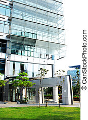modern office building at day