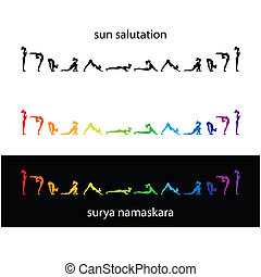 yoga-surya-namaskara - Yoga - a set of morning exercises