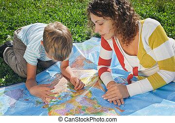 自然, 是, 政治, 兒子, 卡片, 母親, 研究, 世界