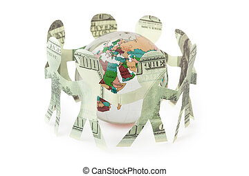 dollars little people cutouts sing and dance in ring around...