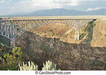 Rio Grande River Gorge Bridge New Mexico Terminator...