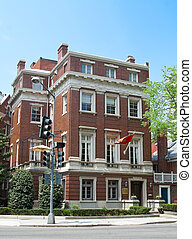 Montenegrin Embassy in Washington DC. Architecture is Second...