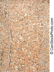 Full Frame Polished Beige Granite Rock Surface - Full Frame...
