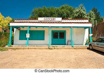 Grocery Store Turquoise Santa Fe New Mexico South Western...
