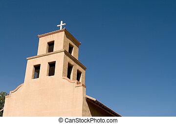 Santaurio De Guadalupe Mission Church Santa Fe, New Mexico