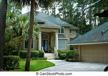 Secluded Single Family Home Hilton Head Island, South...