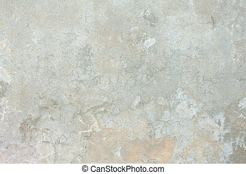 Full Frame Grungy Mottled Beige Cement Background - Full...