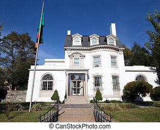 Embassy Zambia Washington DC Second Empire Style - Embassy...