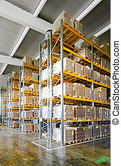Storehouse shelf - Tall shelves and racks in distribution...