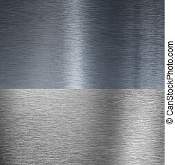 Very sharp brushed aluminum texture