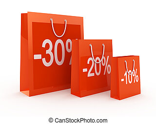 Shopping Discount concept