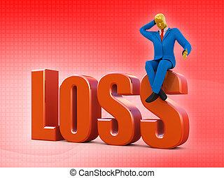 Bankrupt loss concept