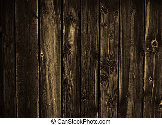 Grunge dark brown wood background or backdrop