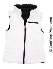 waistcoat - The image of  jacket under the white background