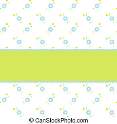Greeting card - Cute card with copy space