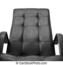 office leather chair isolated