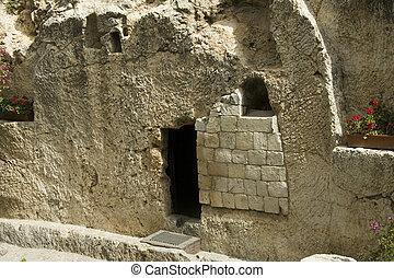 Jesús, Cristo, tumba, israel