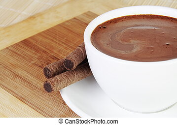 Hot Chocolate Cup Still Life