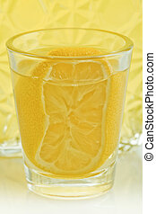 lemon liqueur - the typical Italian liquor extracted from...