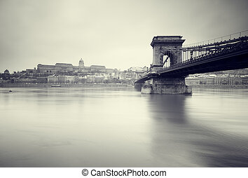 Budapest at winter.