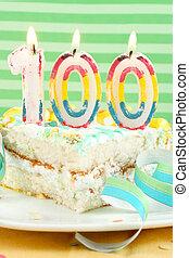 100 birthday or anniversary cake