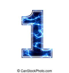 electric 3d digit - 1
