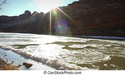 1248 Frozen Colordo River Moab UT - Great for themes of...