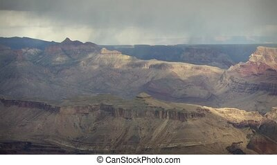 1252b Storm Grand Canyon Timelapse - Great for themes of...