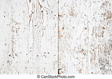 White painted old wooden texture - texture of old grunge...