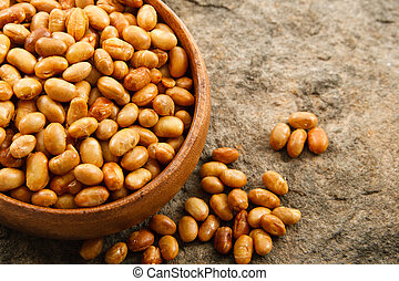 Close up of Soybeans - Soybeans have many health benefits as...