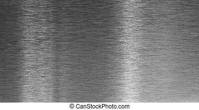 High quality aluminum texture with light reflected