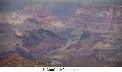 1252 Storm Grand Canyon Timelapse - Great for themes of...
