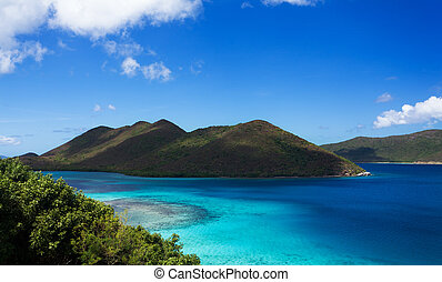 Leinster Bay on St John - Leinster Bay on the Caribbean...